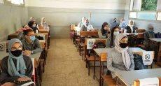 انتظام الحضور بالمدارس