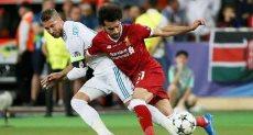 محمد صلاح فى مواجهة ريال مدريد