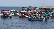 قوارب الصيادين فى غزة - أرشيفية