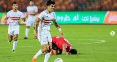 احمد السيد زيزو لاعب الزمالك