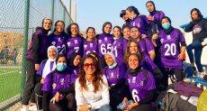 بنات مصر يقتحمون الأمريكان فوتبول