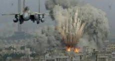 قصف إسرائيلى ـ صورة أرشيفية