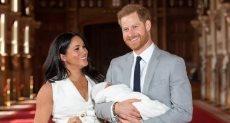 الأمير هارى وميجان ماركل وآرتشى