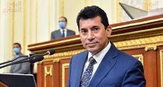 وزير الشباب والرياضة أشرف صبحى