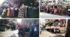 شوارع الجيزة تحولت إلى سوق عشوائى