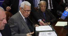 الكاتب الصحفى الكبير مكرم محمد أحمد ، رئيس المجلس الأعلى لتنظيم الإعلام السابق