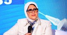 الدكتورة هالة زايد وزيرة الصح