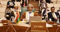 السفير عبد الله الرحبى مندوب عمان بالجامعة العربية