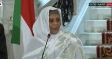 وزيرة خارجية السودان
