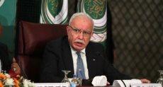 وزير الخارجية الفلسطينى رياض المالكى