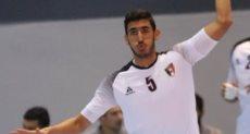 يحيى خالد لاعب منتخب مصر لليد