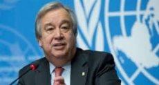 أمين عام الأمم المتحدة أنطونيو جوتيريش