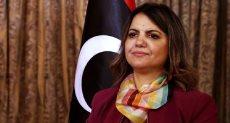 وزيرة الخارجية والتعاون الدولي الليبية نجلاء المنقوش