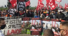 مظاهرات فى إيطاليا