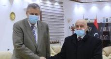 رئيس مجلس النواب الليبى يلتقى المبعوث الأممى لدى ليبيا