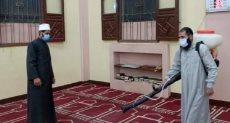 تعقيم المساجد - أرشيفية