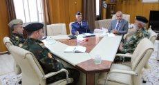 عضو المجلس الرئاسى الليبى عبد الله اللافى يلتقى أعضاء اللجنة العسكرية