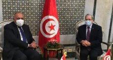 وزير الخارجية يصل تونس