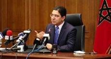 وزير الخارجية المغربى ناصر بوريطة