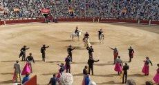 مصارعة الثيران فى إسبانيا
