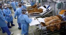 ارتفاع إصابات كورونا فى البرازيل
