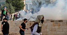 المواجهات فى القدس المحتلة