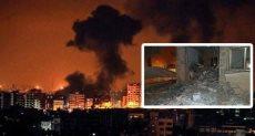 قصف غزة - ارشفية