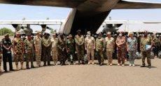 """القوات المصرية المشاركة فى التدريب المشترك """"حماة النيل"""""""