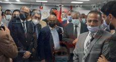 وزير التموين يفتتح أول مكتب نموذجي على مستوى الجمهورية