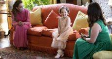 كيت ميدلتون والطفلة ميلا