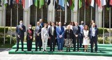 السفيرة هيفاء أبو غزالة ووفد صندوق الأمم المتحدة للسكان