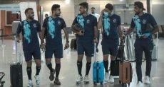 لاعبو الأهلى فى مطار القاهرة