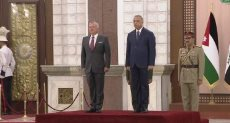 رئيس الوزراء العراقى يستقبل العاهل الأردنى