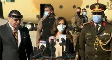 وزيرة الدفا اللبنانية زينة عكر