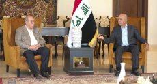 الرئيس العراقى يلتقى إياد علاوى