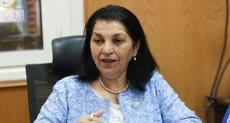 د. نعيمة القصير ممثلة منظمة الصحة العالمية بمصر التابعة للأمم المتحدة