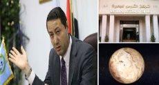 الدكتور جاد القاضى رئيس المعهد القومى للبحوث الفلكية