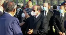 الرئيس عبد الفتاح السيسى والسيدة قرينته