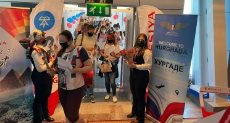مطار الغردقة يستقبل رحلة روسية قادمة من موسكو