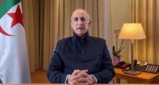 الرئيس الجزائرى عبد المجيد تبون