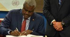 رئيس مفوضية الاتحاد الأفريقى موسى فقيه