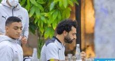 محمد صلاح وبعثة مصر فى ليبيا